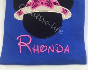 Disney - Safari minnie Shirt - Personalized - Adult