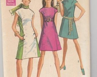 """Simplicity 8242  Misses' Dress Bust 34"""""""
