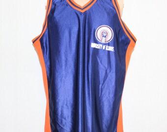 Vintage University of Illinois Fighting Illini NCAA Jersey XL