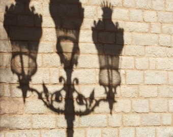 Rustic wall decor, street photography, wall prints, Shadow Art, Barcelona, Fine Art print