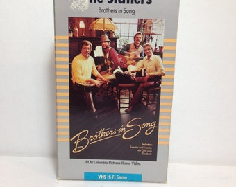 The Statlers Brothers In Song VHS Tape Movie - Copyrights 1985 & 1986 - A PolyGram Music Video Presentation