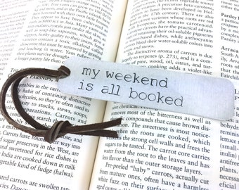 gifts for book lovers, my weekend is all booked, book lover gift, gifts for librarians, librarian gift
