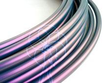 New! Color Shifting Raven Polypro 3/4 Hula Hoop// Customizable// Light Weight//Trick Hoop//Dance Hoop