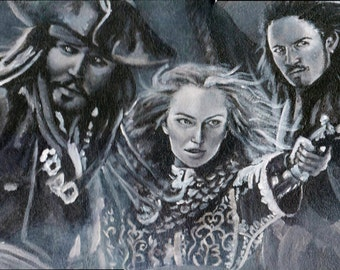 Pirates of the Caribbean Painting