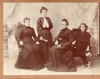 Antique Photo of Four Generations?