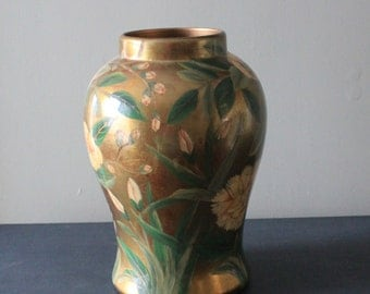 VIntage Hand Painted Large Vase