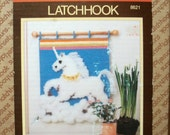 Latch Hook Kit ~ Magical Unicorn Wallhanging ~ Sunset Designs- Unused in Box