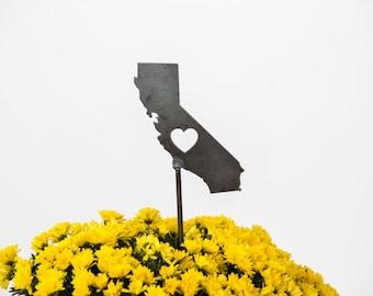 California State Heart Garden Art Stake