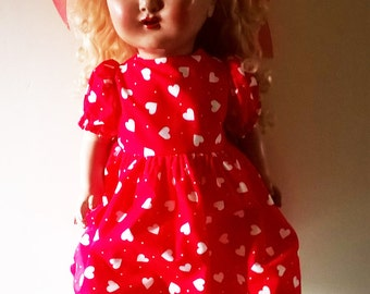 Beautiful large Vintage Doll