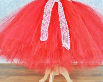 Flower Girl Tutu Dress,Flower Girl Wedding Dress,Tutu Dress,Bridesmaids Dress,Sewn Tulle Dress,Girl Dress,Wedding Dress,Girls Tulle Dress,