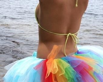 Rainbow Tutu - Adult Tutu - Running Tutu - Dash Tutu - Pony Tutu