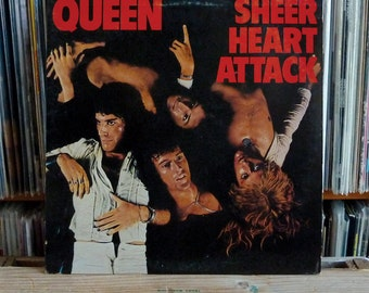 "QUEEN on Vinyl, ""Sheer Heart Attack"" 1974 Elektra Records Release (7E-1026) FREDDiE MERCuRY"