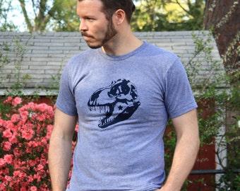T Rex T Shirt - Dinosaur Shirt - Trex Shirt - Dinosaur T Shirt - Hipster TShirt - Graphic Tee - American Apparel - Science Shirt - T-REX