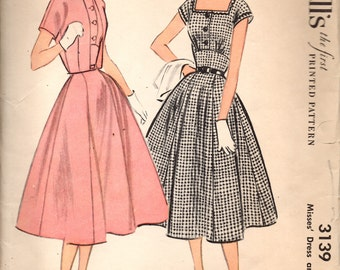 McCall's 3139 Misses Dress and Bolero Sewing Pattern