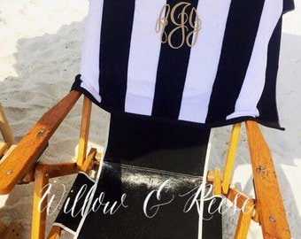 Monogrammed Beach Towel- Great quality!