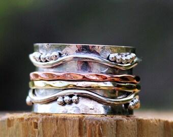 Spinning Ring, Spinner Ring, Meditation Ring, Statement Ring, spin ring, worry ring , sterling silver ring, Israeli ring