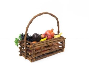 Shabby Twig Basket