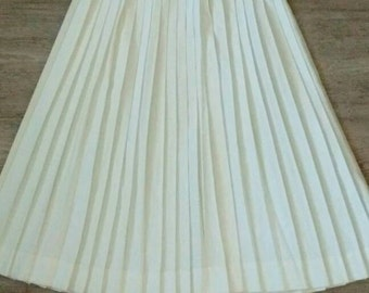 Vintage 70s Accordion Pleat high Waisted Skirt