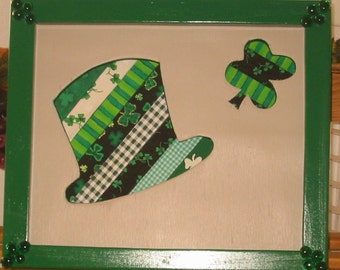 St. Patrick's Day Mixed Media Art