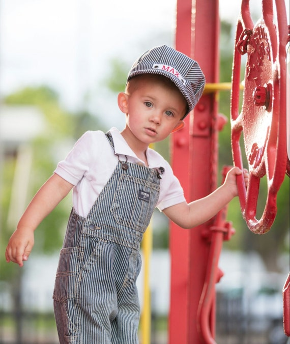 Il_570xn  sc 1 st  Catch My Party & Train Hat Train Outfit Train Engineer Costume Toddler Boy Train ...