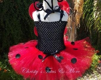 Lady Bug tutu dress