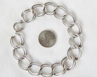 Sterling Silver Bracelet Or Charm Bracelet - FCC Forstner Chain Company