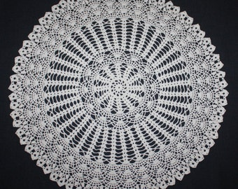 Large Crochet Doily Lace Doily
