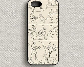 Vintage Boxing Phone Case iPhone 5 5C 6 6+ 7 7+