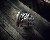 Rip Van Winkle Sterling Spoon Ring