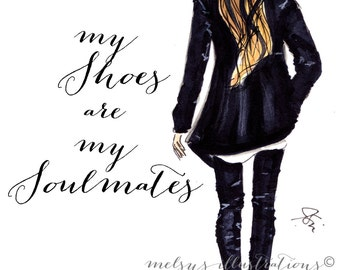 My Shoes are My Soulmates