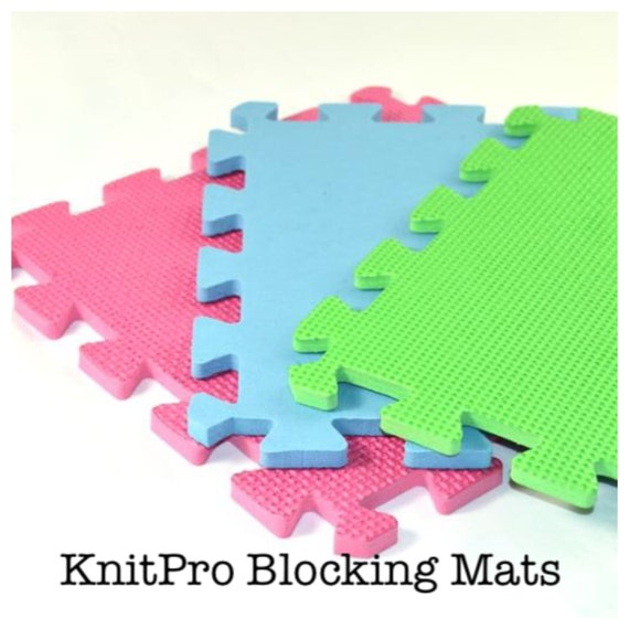 Knitpro Blocking Mats Amp Pins For Lace And Other Knitting