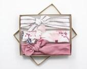 Baby Shower Gift / Baby Headband / Baby Girl Bow / Newborn Girl Gift / Newborn Photo Prop / Newborn Headbands