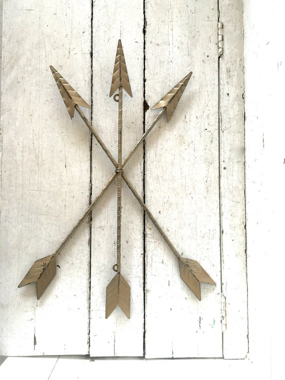 Arrows For Wall Decor : Arrow wall art decor hanging metal