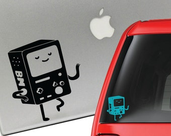BMO Beemo Adventure Time Vinyl Decal for Laptop or Car