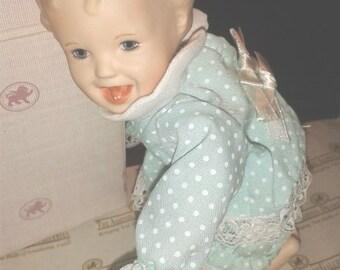 SALE Vintage Collector Ashton Drake Porcelain Doll JESSICA  Collectible Yolanda Bello
