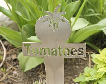Tomatoes Garden Marker (Stainless Steel)