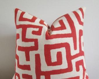 Kuba Pillow Cover // Throw Pillow, Accent Pillow, Toss Pillow 16 18 20 22 24 26 Euro