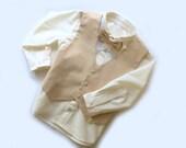 Infant, Toddler, Young Boy Button Down Long Sleeve Dress Shirt