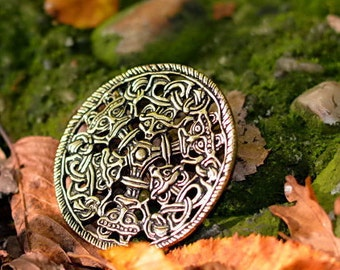 Viking brooch in Borre style - [07 Br 3 Borre]