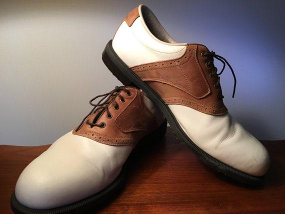 original footjoy dryjoys mens golf shoes size 12