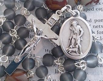 Saint Lazarus Rosary Catholic Rosaries Saint Rosary St Lazarus Rosary Confirmation Gift