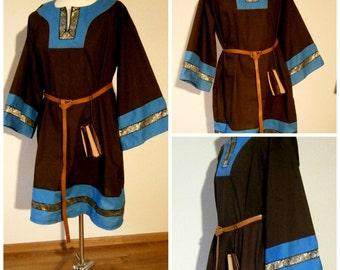 Medieval Tunic Cotton Tunic for Men Viking LARP