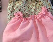 Bloomer Femme Rose en Broderie Anglaise /Shorty/Short de nuit/Short pyjama/Lingerie/Cadeau femme/Cadeau pour elle