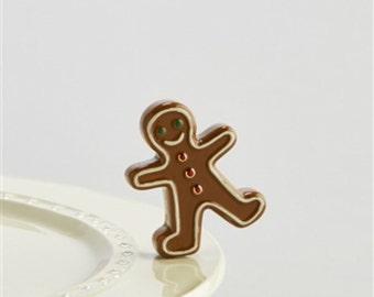 Nora Flemming Gingerbread Man Mini