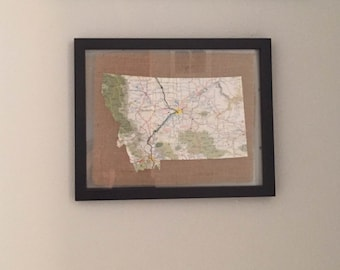 State Map in Floating Frame