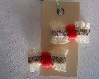 Handmade Bow Hairclips