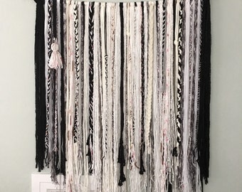 Braided Wall Hanging - Black