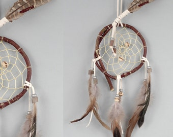 Wooden Dreamcatcher, Wood Dream Catcher, Rustic dream catcher, Native American Inspired Dreamcatcher, Wall Hanging Dreamcatcher