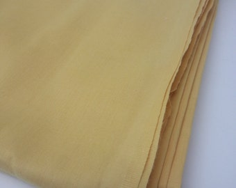 Yellow Light Weight Cotton Fabric (7 3/4 yards)