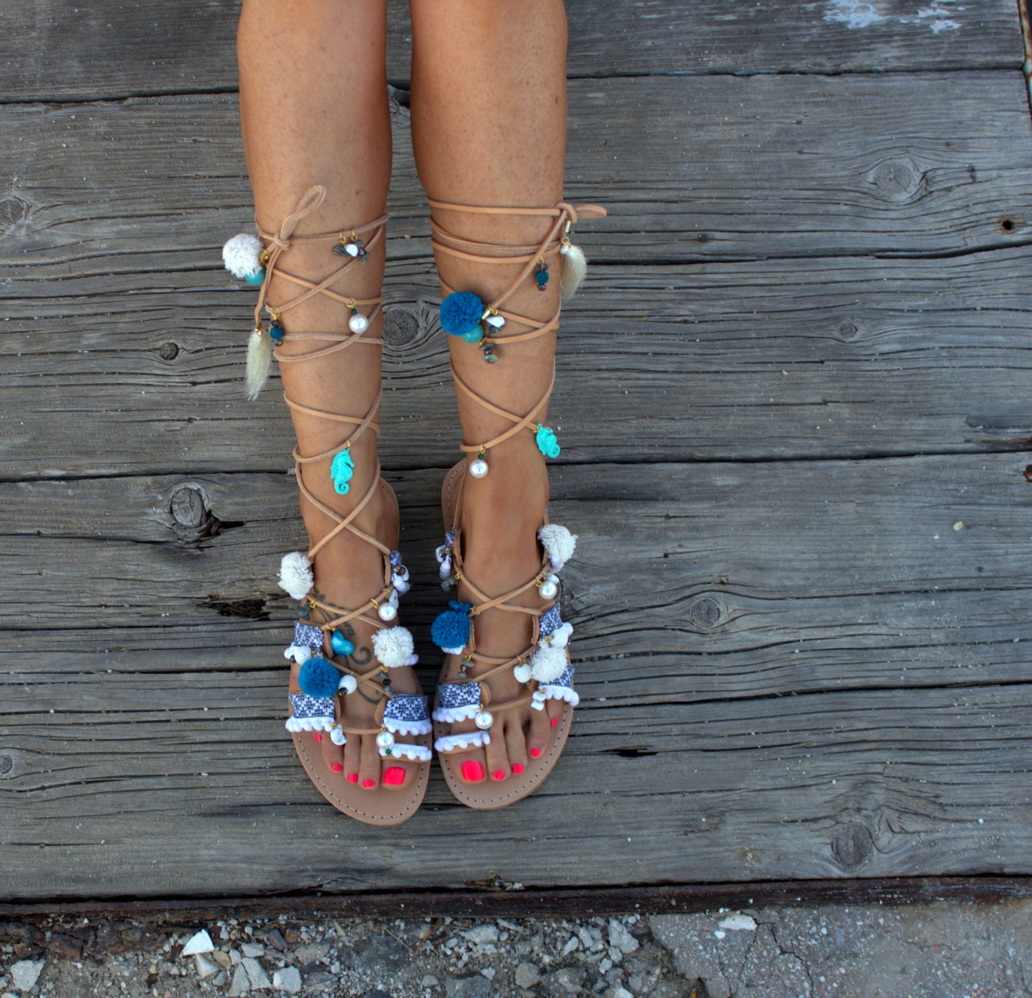 6e60550730b Tie Up Gladiator Sandals